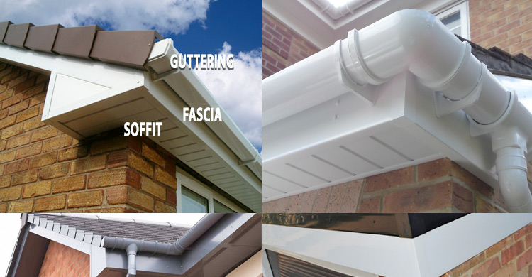 Costs For Replacing Upvc Guttering Fascias Gutters Soffits Tamworth